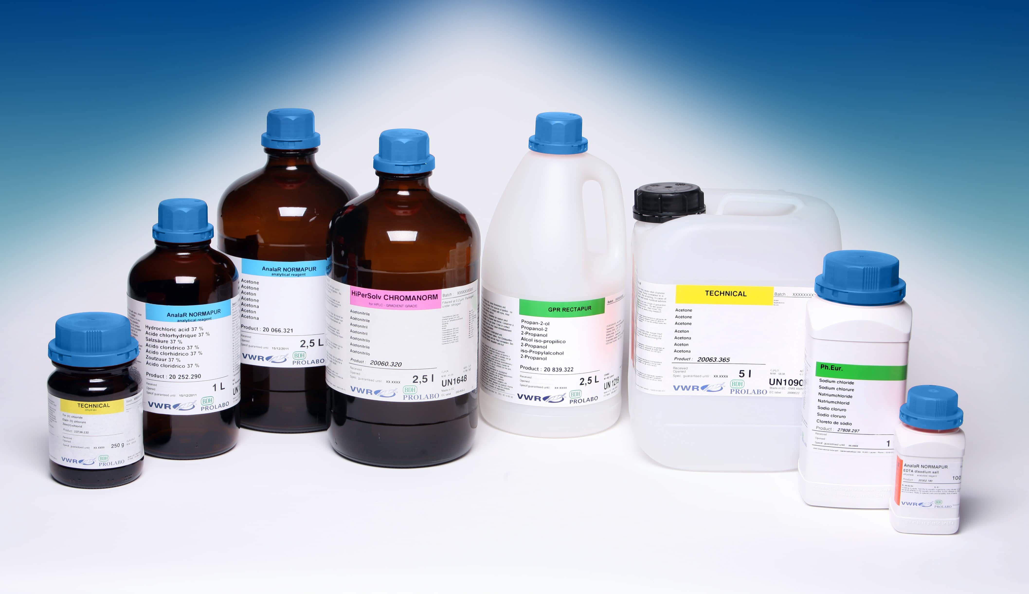 BDH PROLABO: THE CHEMICAL BRAND FROM VWR - Analytical Reporter