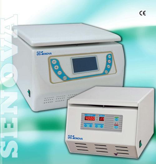 CELSIUS - SENOVA centrifuges for pharmaceutical, food and beverage, and environmental markets