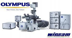 Olympus Xcellence range of research microscope systems