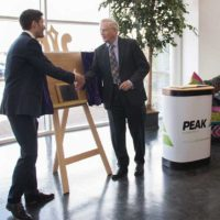 The Duke of Gloucester visited the factory to mark the company's 20th Anniversary.