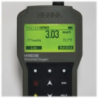 Benchtop and portable meters from Hanna Instruments are perfect for dissolved oxygen monitoring.