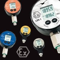 The Keller range of five intrinsically safe electronic pressure gauges for use in areas subject to gas explosion