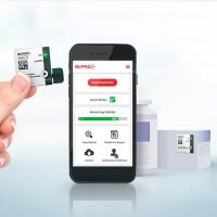 The Libero ITS indicator is a small device that monitors the temperature stability and shelf-life of a pharmaceutical product during end-to-end journeys
